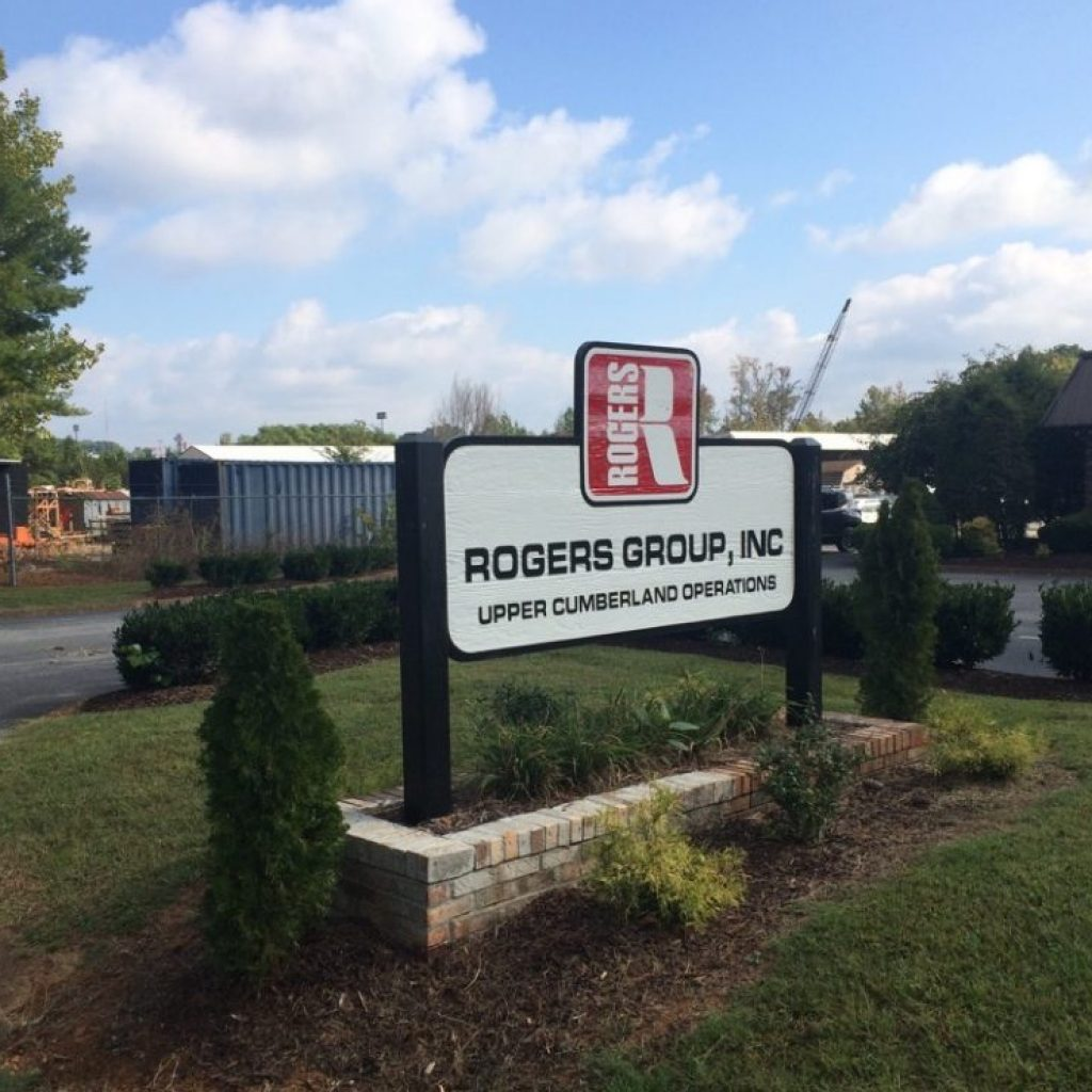 Rogers group sign